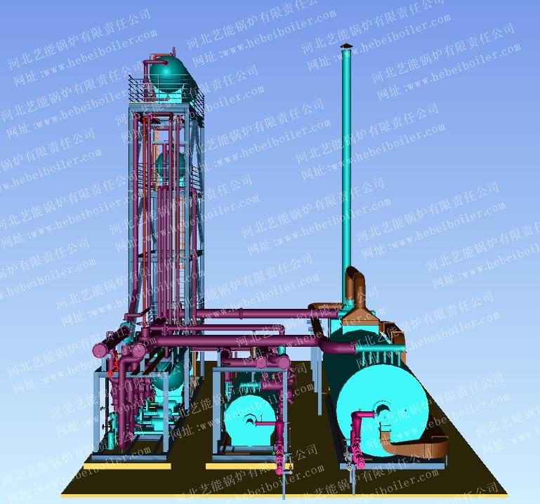 撬装导热油炉